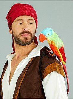 Homem Papagaio de pirata