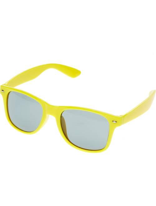 Par de óculos quadrados                                                                                                     Amarelo Acessórios