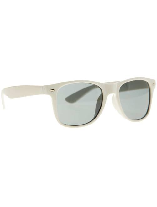 Par de óculos quadrados                                                                                                     Branco