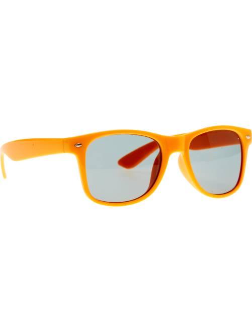 Par de óculos quadrados                                                                                                     Laranja