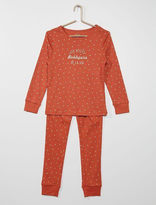 Pijama                                                                             BEGE