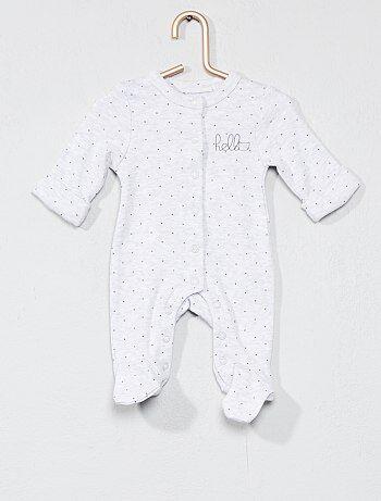 Pijama com estampado 'estrelas' - Kiabi