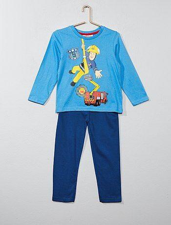 Pijama comprido 'Bombeiro Sam' - Kiabi