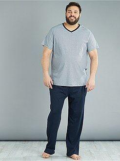 Pijama, roupão - Pijama comprido de 2 peças - Kiabi