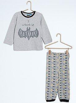 Pijama comprido de 2 peças 'Batman'