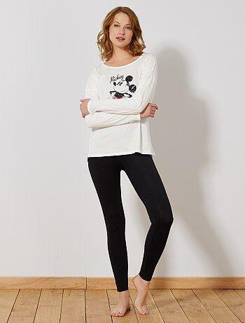 Pijama comprido 'Mickey' - Kiabi