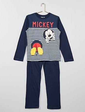 Pijama comprido 'Mickey Mouse' - Kiabi