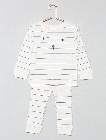 c9e16ce0c Pijama comprido  urso  - Kiabi