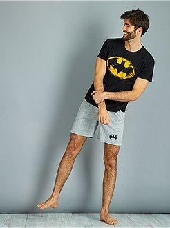 Pijama, roupão - Pijama curto 'Batman' - Kiabi
