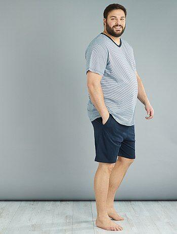 Pijama curto de 2 peças - Kiabi