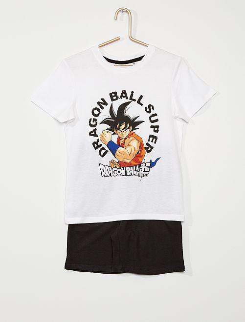 Pijama curto 'Dragon Ball Z'                             Branco