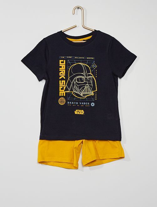 Pijama curto em algodão 'Star Wars'                                         AZUL