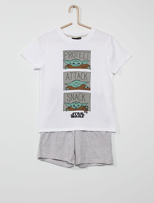 Pijama curto em algodão 'Star Wars'                                         CINZA