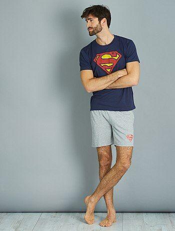 Pijama curto 'Super-homem' - Kiabi