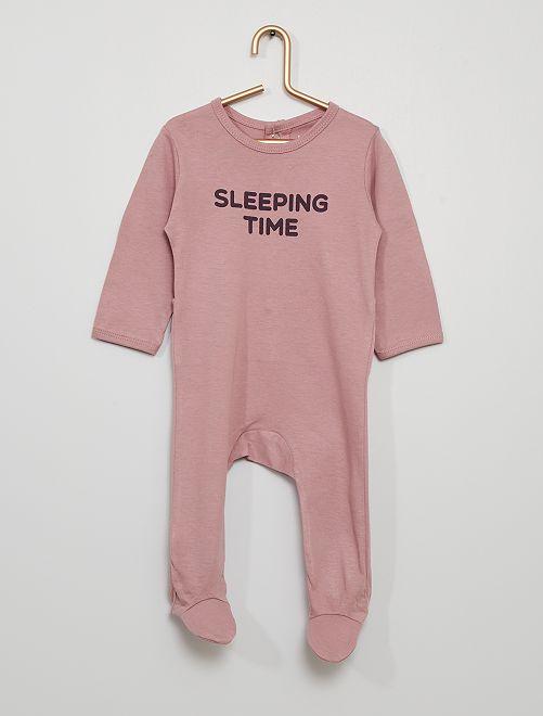 Pijama da gama 'eco-conception'                                                                                         VIOLETA