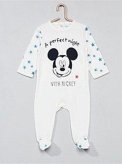 Pijama de algodão 'Mickey' - Kiabi