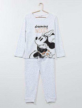 Pijama de veludo 'Minnie' - Kiabi