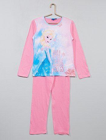 Pijama em jersey 'Frozen' - Kiabi