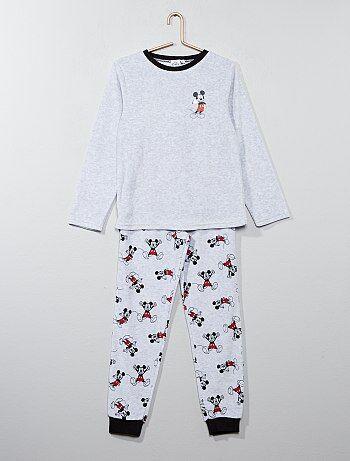 Pijama em veludo 'Mickey Mouse' da 'Disney' - Kiabi