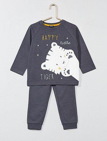 Pijama estampado 'tigre' - Kiabi