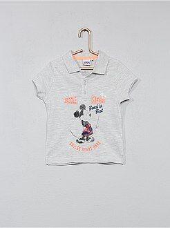 Polo estampado 'Mickey Mouse' da 'Disney' - Kiabi