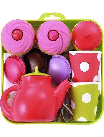 Prato serviço de chá e cupcakes - Kiabi