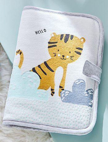Proteção de boletim de saúde com estampado 'tigre' - - Kiabi