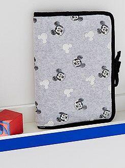 Quarto, banho - Proteção de caderno de saúde 'Mickey'