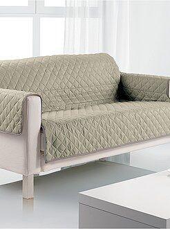 Decoração têxtil - Proteção de sofá de 3 lugares - Kiabi