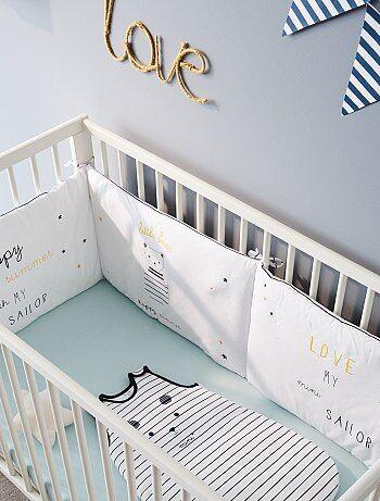 Protetor de cama em tecido 'Little bear' - Kiabi