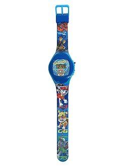 Relógio digital 'Patrulha Pata'