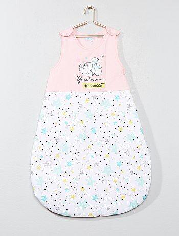 Saco de bebé em puro algodão 'Minnie' - Kiabi