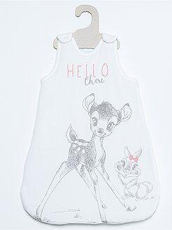 Puericultura - Saco de bebé em veludo 'Bambi'