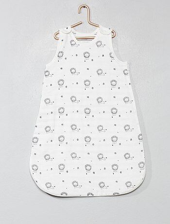 530c441ee Menina 0-36 meses - Saco de bebé leve com estampado - Kiabi