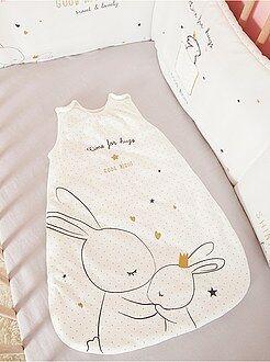 Saco de bebé - Saco de bebé quente de veludo 'Coelhos Fofinhos' - Kiabi
