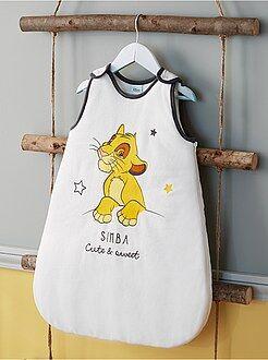 Saco de bebé - Saco de bebé quente de veludo 'Simba' - Kiabi