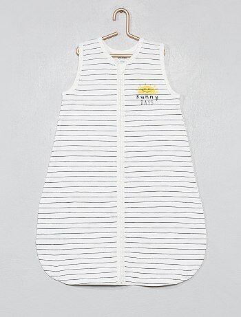 199ab1196 Saco de bebé simples às riscas - Kiabi