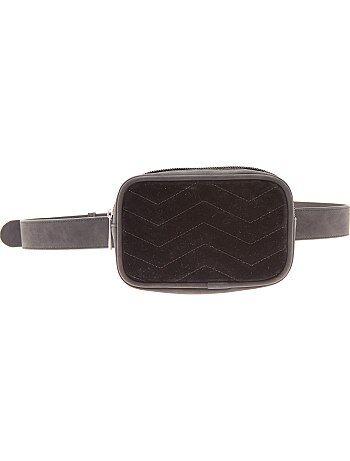 Saco de cinta de veludo - Kiabi