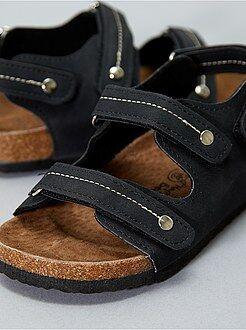 Menino 3-12 anos - Sandálias de camurça - Kiabi