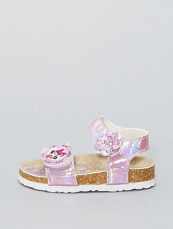 Sandálias em pele sintética 'Minnie Mouse' da 'Disney' - Kiabi