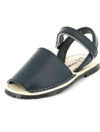 Sandálias Menorquinas de couro - Kiabi