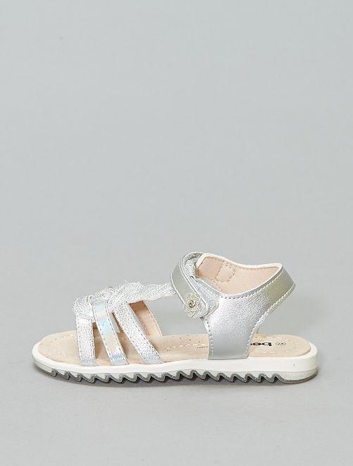 Sandálias prateadas 'Beppi'                             Prata