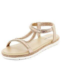 Calçado - Sandálias rasas - Kiabi