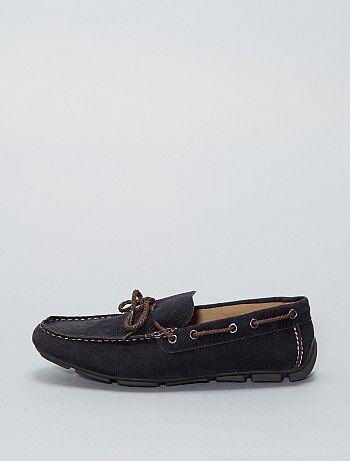 Sapato de vela em pele sintética - Kiabi