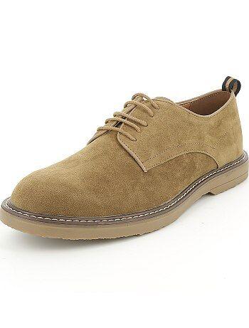Sapatos citadinos de camurça - Kiabi