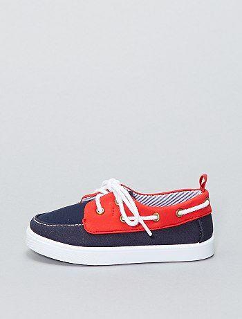 Sapatos de vela em lona - Kiabi