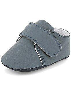 Sapatos rasos com velcro - Kiabi