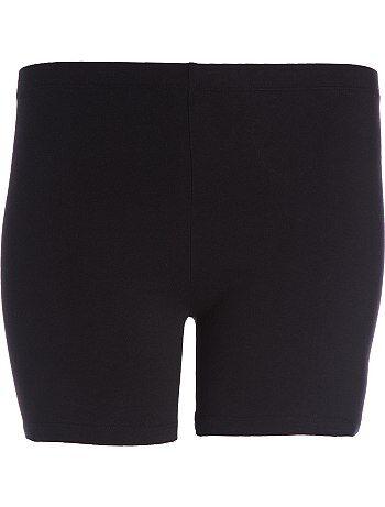 Lingerie tamanhos grandes - Shorts em malha elástica - Kiabi