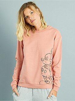 Sweat - Sweatshirt com estampado 'Mickey'