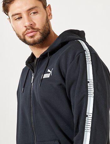 Sweatshirt com fecho e capuz 'Puma' - Kiabi